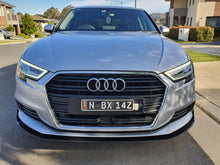 Load image into Gallery viewer, Audi A3 Front Splitter