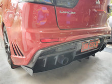 Load image into Gallery viewer, Mitsubishi Evo X Rear Diffuser