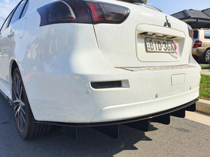 Mitsubishi CJ & CF Hatch Rear Diffuser