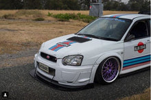 Load image into Gallery viewer, Subaru 'Blobeye' Impreza Front Splitter V2 (Large)