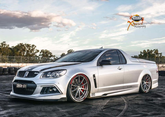 HSV F-Series Side Skirt Extensions