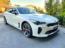 Load image into Gallery viewer, Kia Stinger Front Splitter