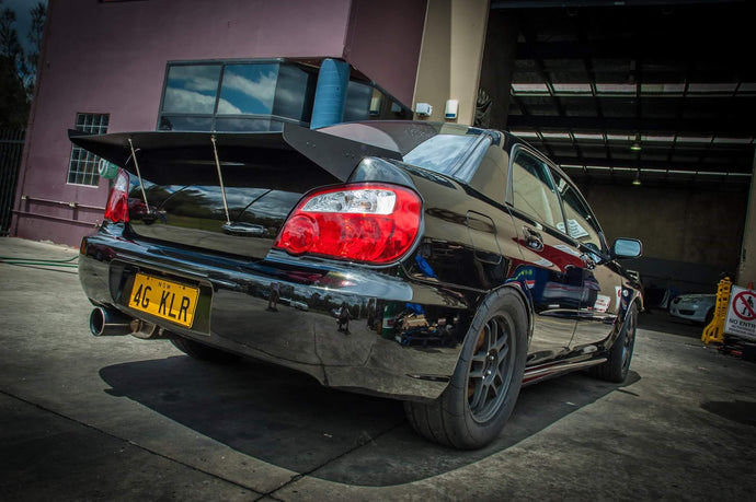 Subaru Rear Drag Wing 01-07 Sedan