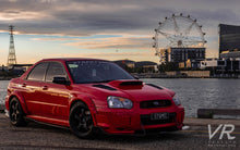 Load image into Gallery viewer, Subaru 'Bugeye' Impreza Front Splitter V2 (Large)