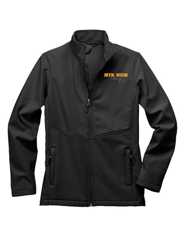 7917 LADIES  FLEECE-LINED SOFTSHELL JACKET - CHEVY