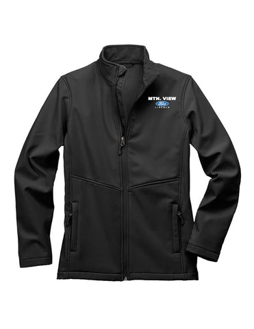 7917 LADIES  FLEECE-LINED SOFTSHELL JACKET - FORD