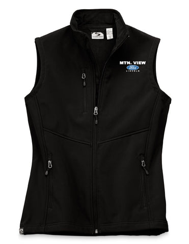 7918 LADIES  FLEECE-LINED SOFTSHELL VEST - FORD