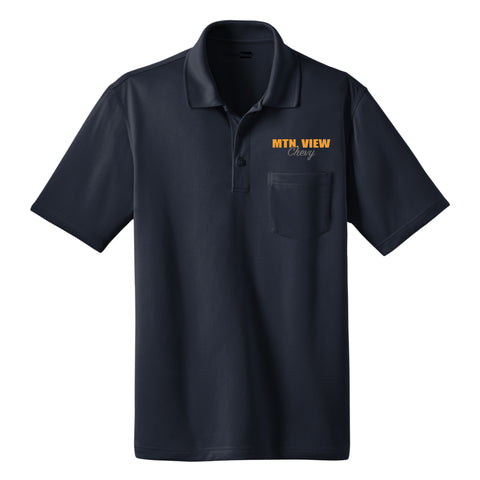 MVC05 CornerStone® Select Snag-Proof Pocket Polo-CHEVY