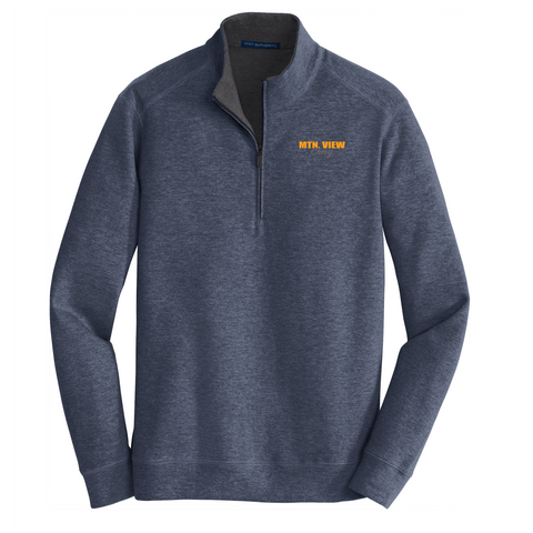18- Interlock 1/4 Zip Pullover- CHEVY