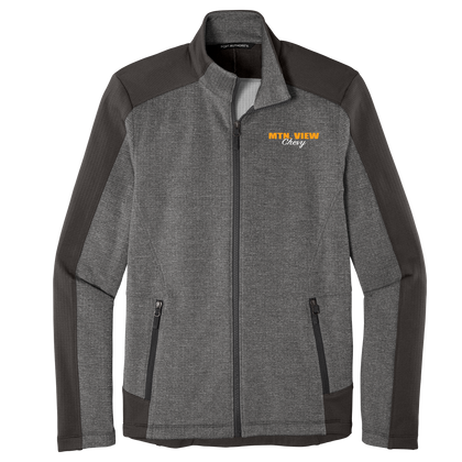 23 - GRID FLEECE JACKET - CHEVY