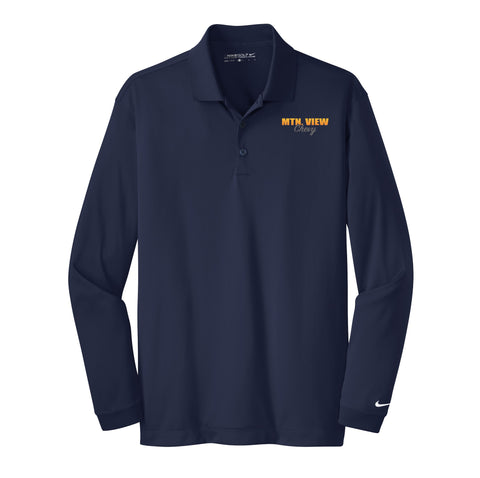 7883 L/S Nike® Dri-FIT Polo-Chevy