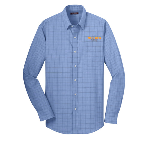 7902 L/S Red House® Windowpane Plaid - Chevy