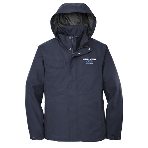 MEN'S RAIN SHELL JACKET - FORD