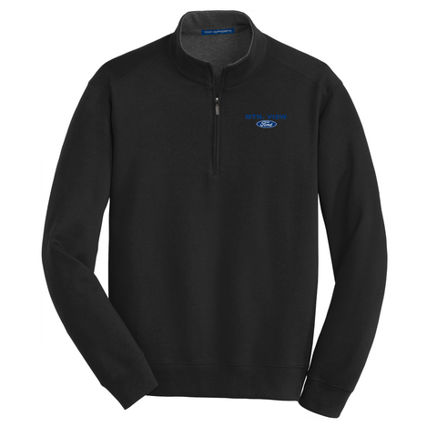 Interlock 1/4 Zip Pullover- FORD