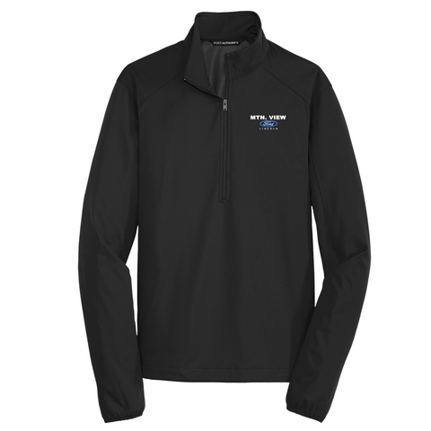 Active 1/2-Zip Soft Shell Jacket-FORD