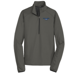19- Active 1/2-Zip Soft Shell Jacket-FORD