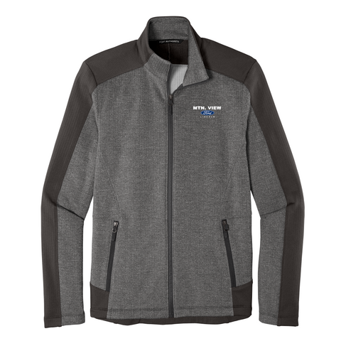 GRID FLEECE JACKET - FORD