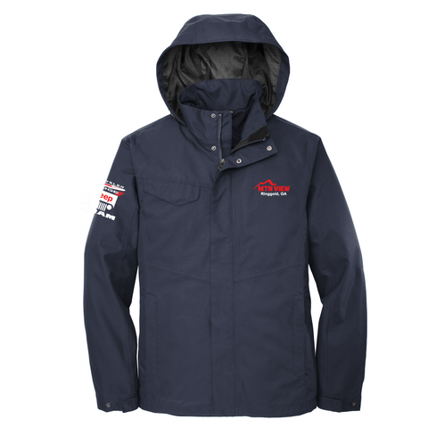 16 - MEN'S RAIN SHELL JACKET - CDJR