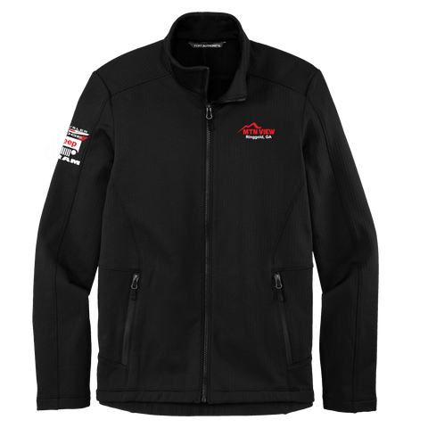 23 - GRID FLEECE JACKET - CDJR