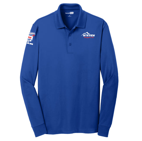 7868 CornerStone® Select L/S Polo -CDJR