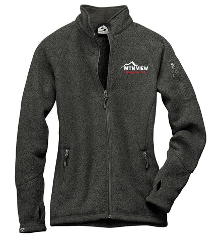 7915 LADIES SWEATERFLEECE JACKET - CDJR
