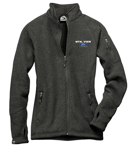 7915 LADIES SWEATERFLEECE JACKET - FORD