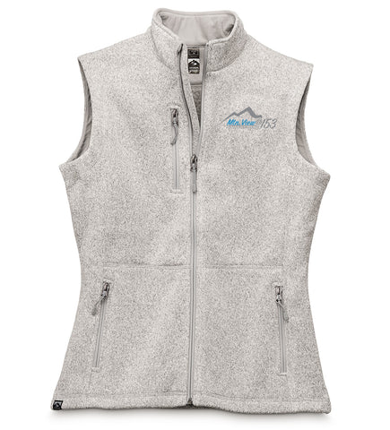 7916 LADIES SWEATERFLEECE VEST - @153