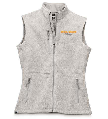 7916 LADIES SWEATERFLEECE VEST - CHEVY