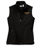 7918 LADIES  FLEECE-LINED SOFTSHELL VEST - CHEVY