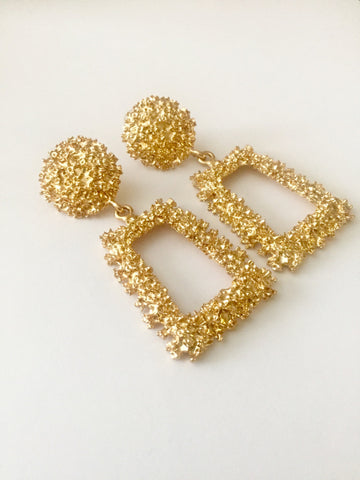 Classy Gold Earrings