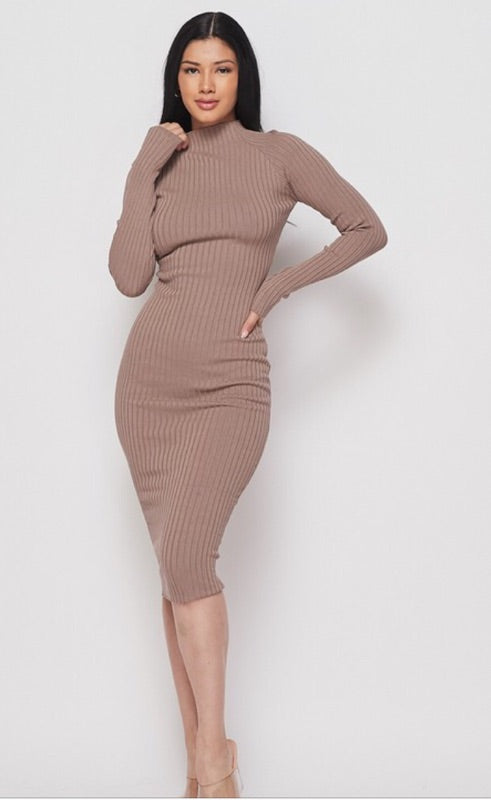 Knit Bodycon Dress PREORDER