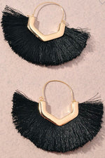 Feeling Fabulous Earrings | Black