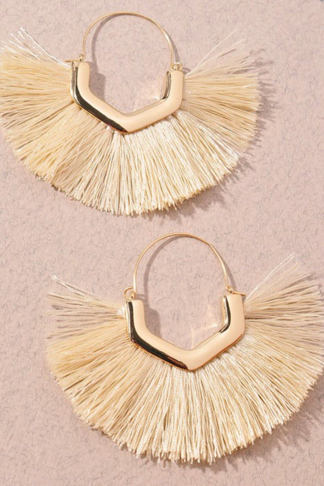 Feeling Fabulous Earrings | Ivory