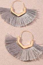 Feeling Fabulous Earrings | Grey