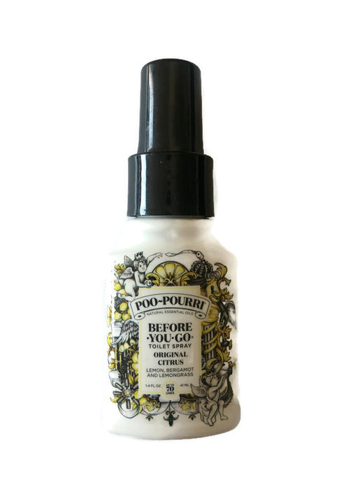 Poo-Pouri - helping loved ones go #2 with a pleasant bathroom smell or spray in bathroom anytime for spa freshness