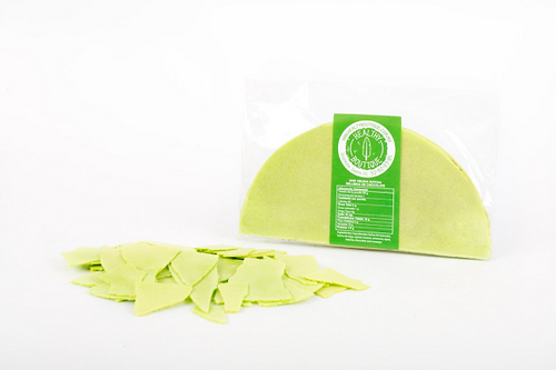 OBLEA MEDIA MATCHA C/CHOCOLATE