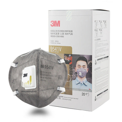 3M 9041V Particulate Respirator Mask with Valve
