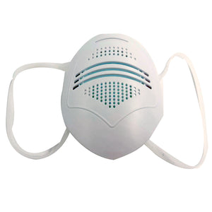 Reusable Plastic Face Mask with Replaceable Filters