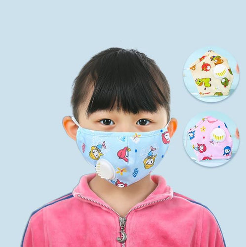 Kid Mask with Exhalation Valve