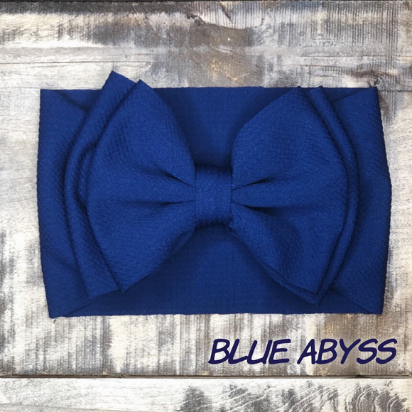 Blue Abyss Headwrap