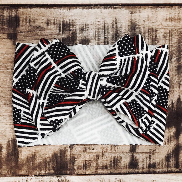 Thin Red Line Headwrap