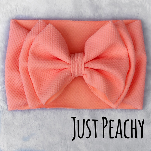 Just Peachy Headwrap