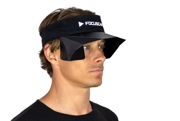 FOCUSCAP | Visor Edition black