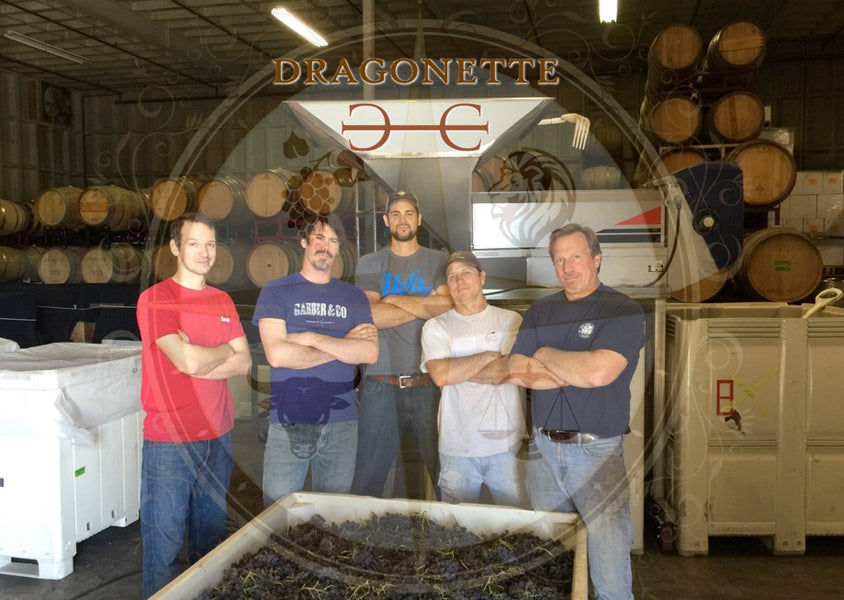 Matt McKinney - Dragonette Cellars Harvest 2016