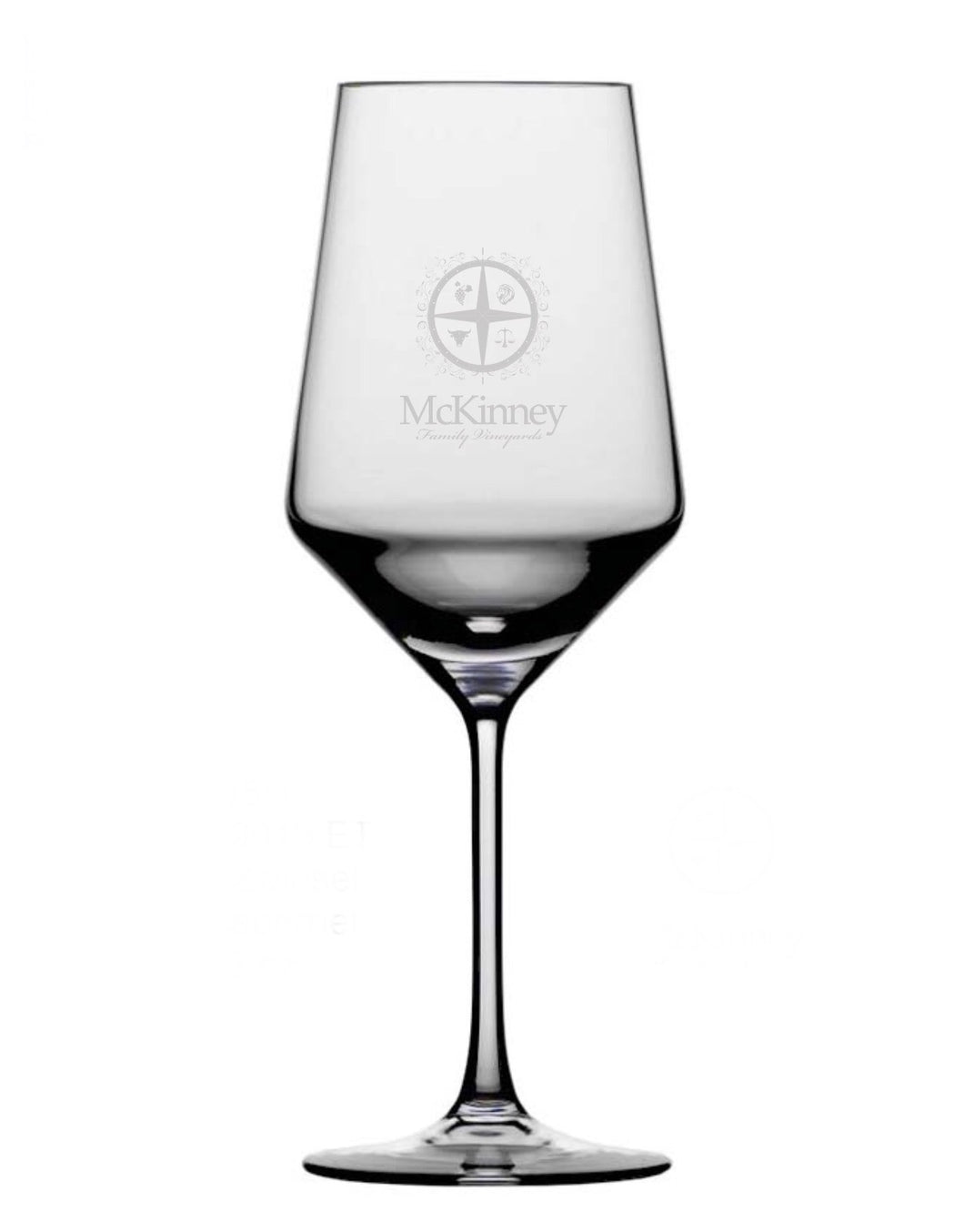 McKinney Family Vineyards Wine Glass