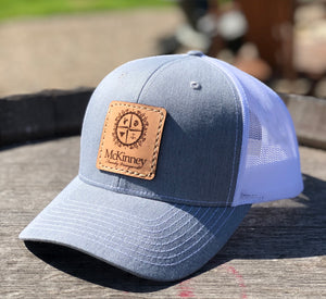 McKinney Premium Leather Patch Hat