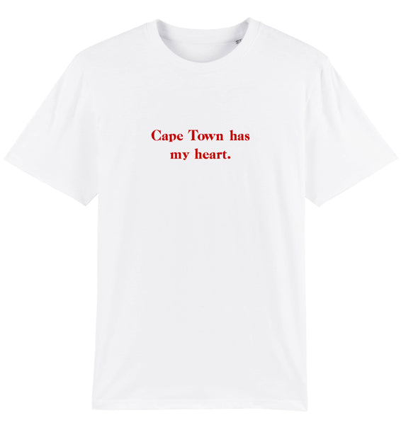"""Cape Town has my heart"" T-Shirt"