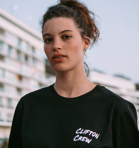 Black Clifton Crew T-Shirt