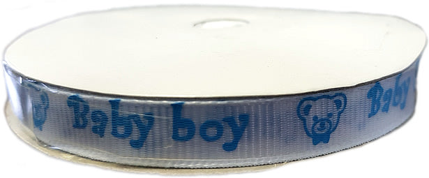 Baby Boy Satin Band,25m