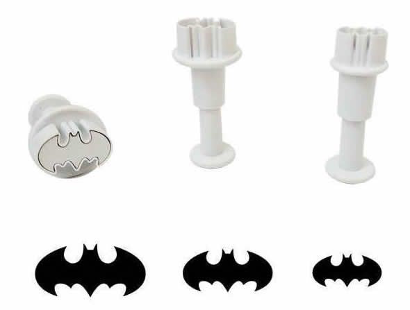 Batman Ausstechformen Set,3 set